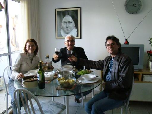 Eliana Sá, Ricardo Sá e Gerson Abarca