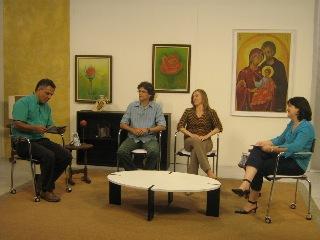 Gersomn e Maria Celina no Minha Família é Assim, na TV Canção Nova