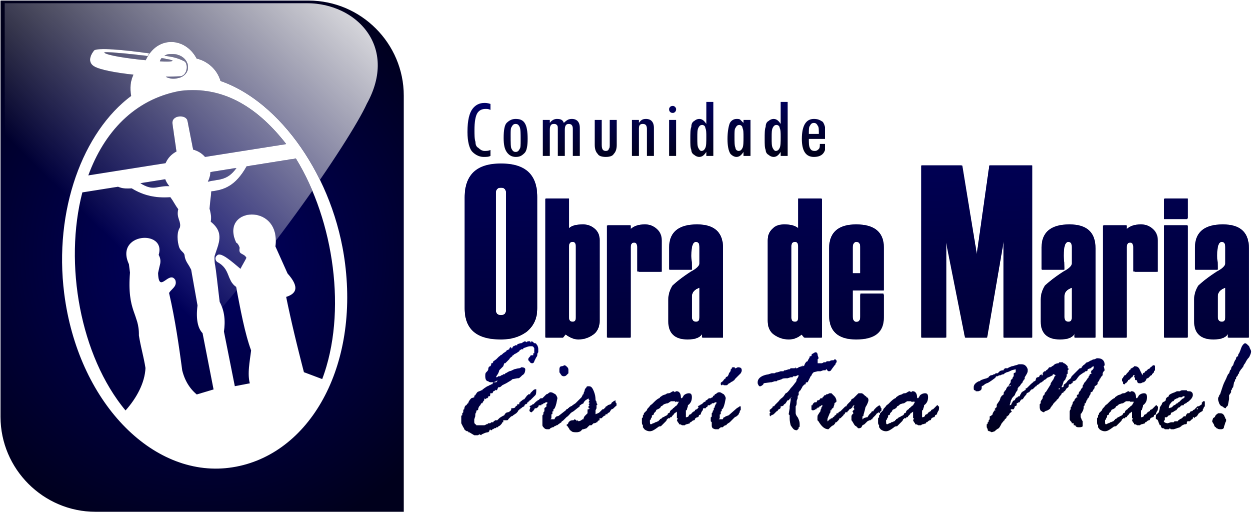 Logo Obra de Maria - Azul