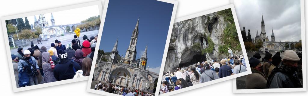 Lourdes - Obra de Maria Peregrinações