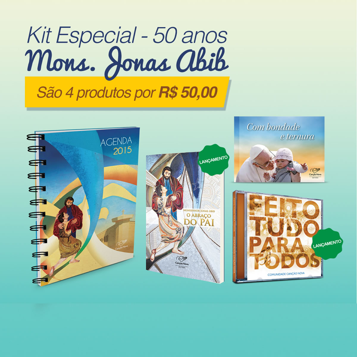 kit50anosespecial