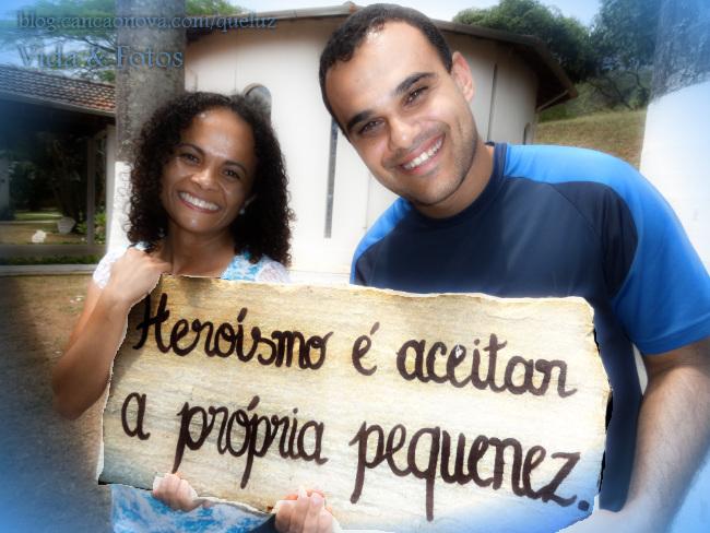 Maria Luiza e André Luiz, ambos missionários da Comunidade Canção Nova desde 2005