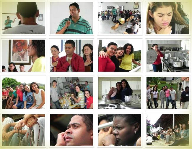 Jornada anual de Juniores Canção Nova - março de 2012