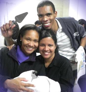 Maria Angélica, Chelia e Adailton Batista - missionários canção Nova