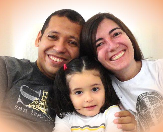 Ana Cristina e sua família