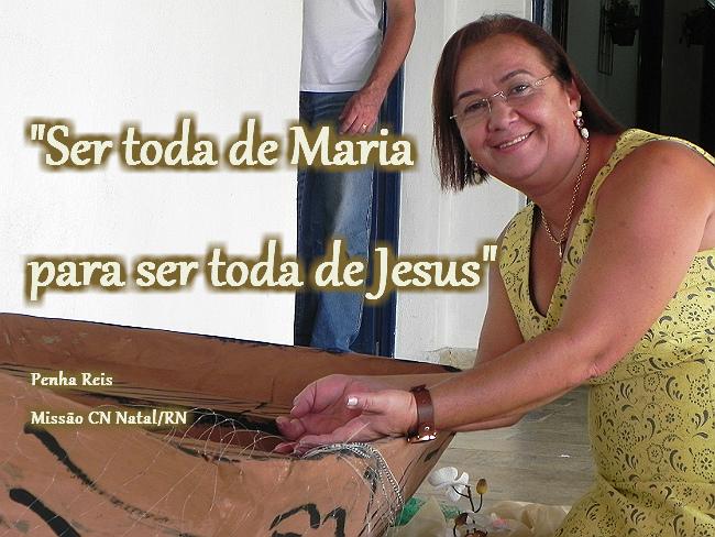 Ser toda de Maria para ser toda de Jesus