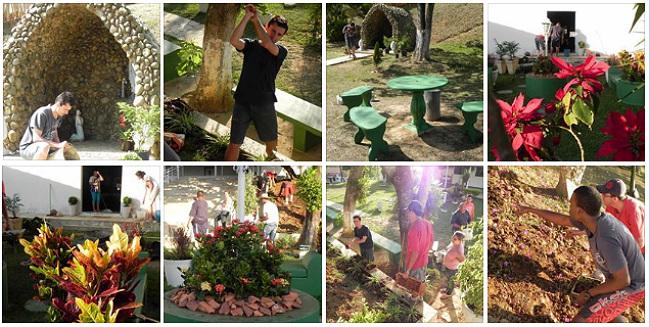 fotos do novo jardim