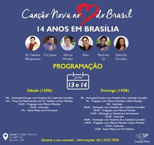 Canção Nova 14 anos no coração do Brasil
