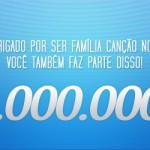 A página da CN no Facebook chegou à marca de 1 milhão de curtições