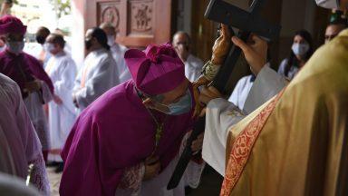 Posse do novo Bispo da Diocese de Lorena