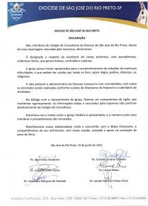declaração diocese 1