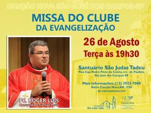 Missa do Clube da Evangelização - Agosto 2014 Novo Modelo