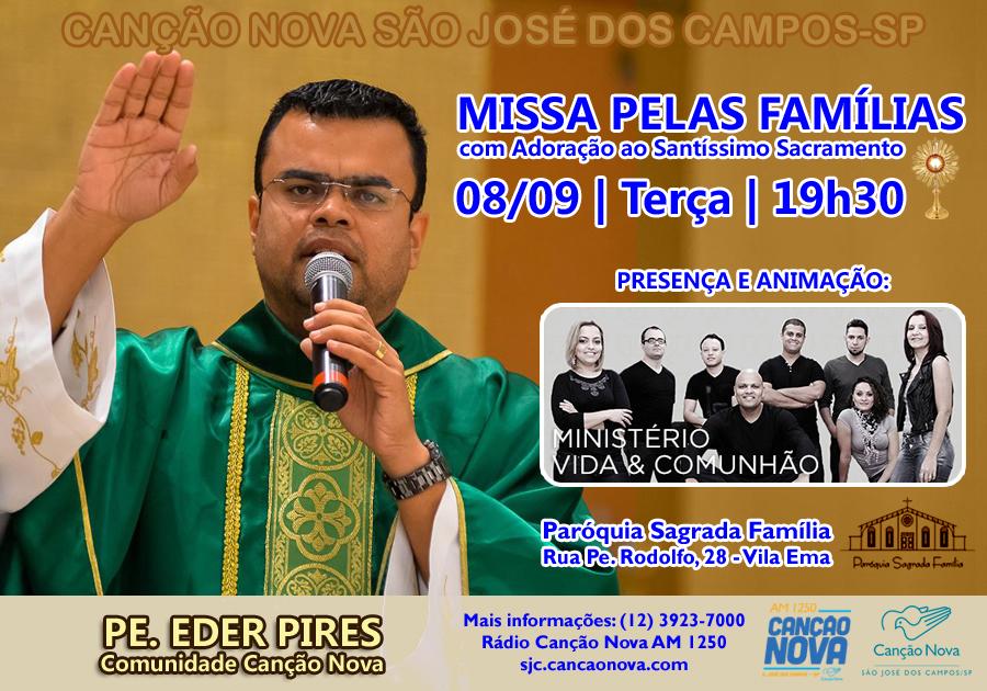 Missa Pelas Familias