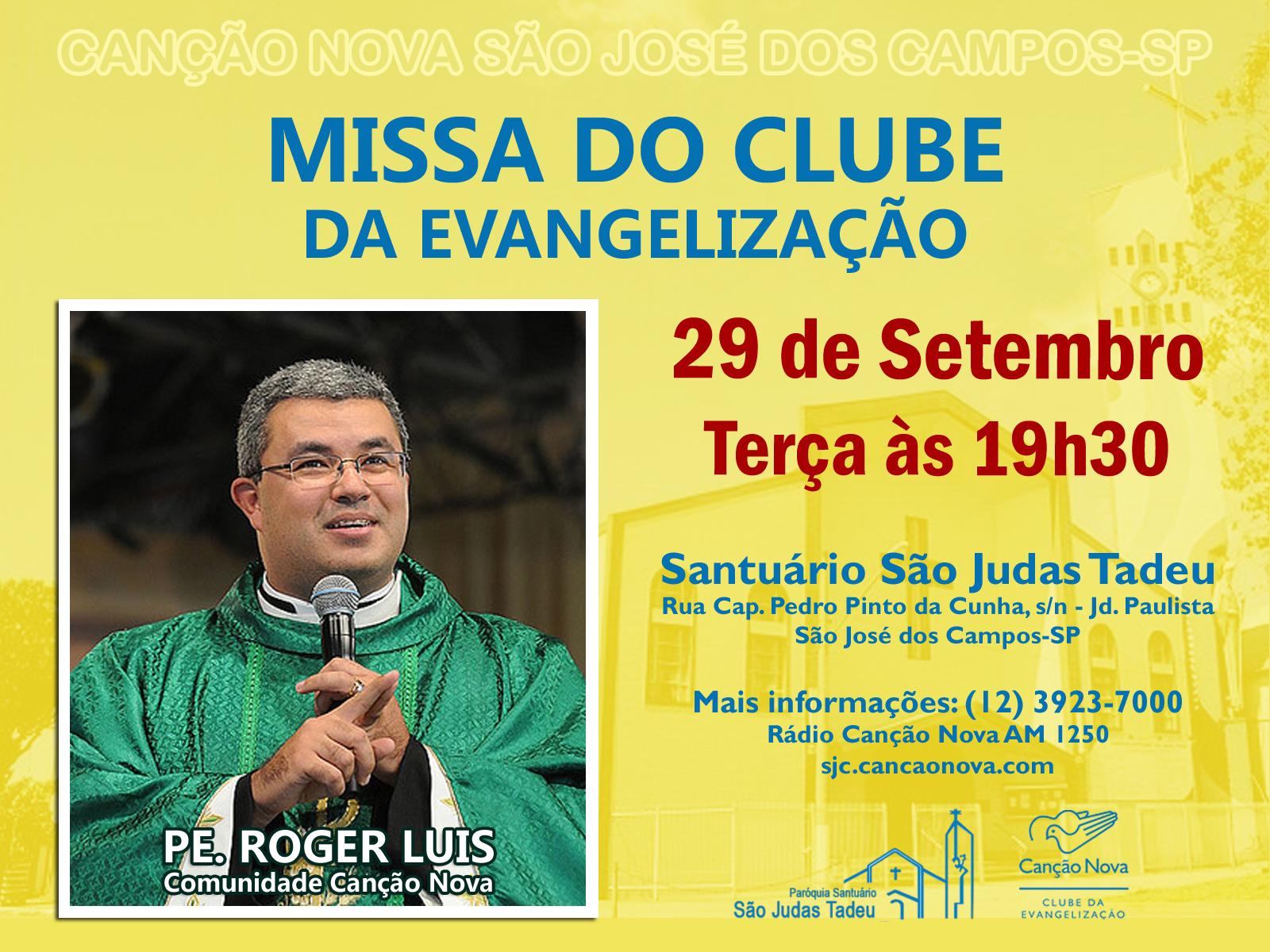 Missa do Clube da Evangelização - Set15