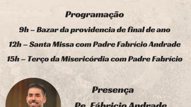 Quarta-feira da providência com Padre Fabrício Andrade