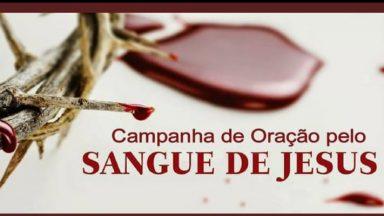 Campanha de oração pelo sangue de Jesus