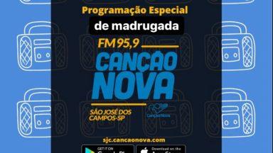 Programação da madrugada radio CN/FM 95.9 no coração do vale.