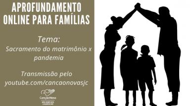 Aprofundamento online para famílias