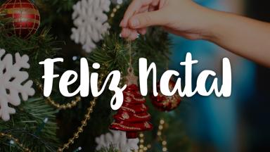 Feliz Natal e um Ano novo cheio de esperança!