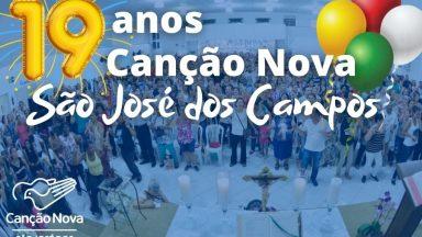 19 anos da Canção Nova em São José dos Campos
