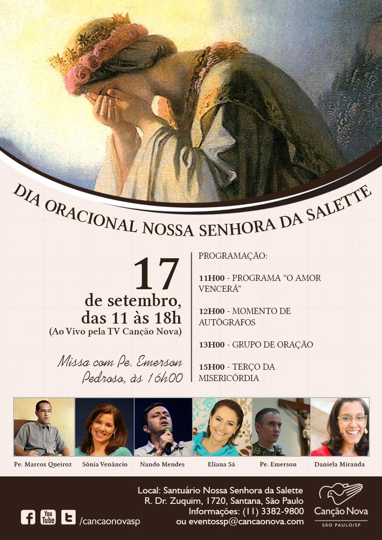 Dia Oracional Nossa Senhora da Salette