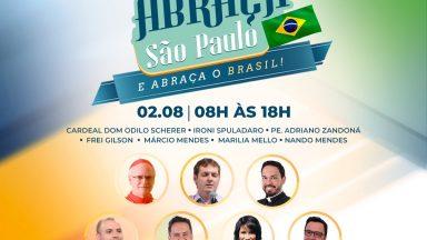 Evento Canção Nova Abraça São Paulo vai levar contágio da esperança a todo Brasil