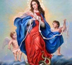 Venha pedir a intercessão de Nossa Senhora Desatadora dos Nós
