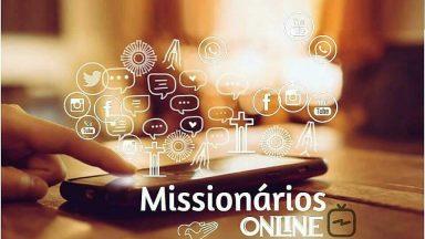 Missionários online, programação da semana