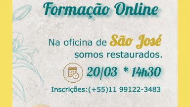 Neste sábado, participe da formação on-line sobre São José com Frei Patrício, Irmã Ana Paula e Marília Mello