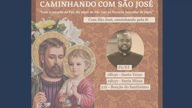 Canção Nova em São Paulo inicia Campanha de Oração com São José