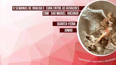 Tempo forte pela Cura das Gerações por intercessão São Miguel Arcanjo a partir desta quarta, 02/06, na Catedral do Líbano
