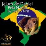 Jejum de Daniel por nossa Nação