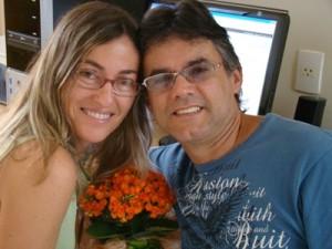 Casal Celina e Gerson - usuários e instrutores do Método Billings