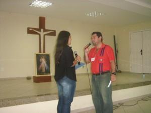 Casal Rogélia e Lenadro - usuários do Método. Diocese de Campos/RJ
