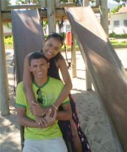 Casal Michele e Rondinele - 1 ano 4 meses e 7 dias de namoro