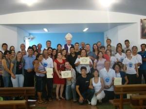 Momento Final da Celebração da Missa e da certificação da Diocese