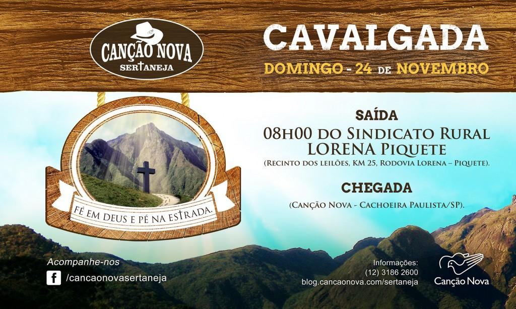 Cavalgada Canção Nova Sertaneja