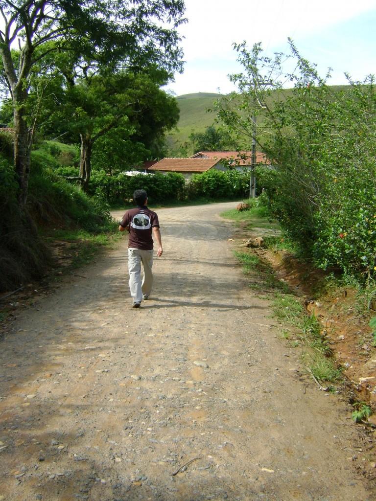 Fé em Deus e pé na estrada