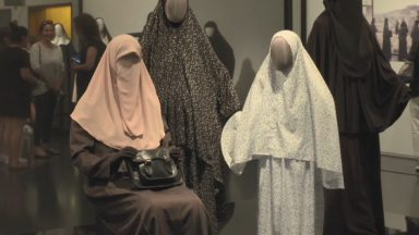 O véu em exposição e sua importância em Jerusalém