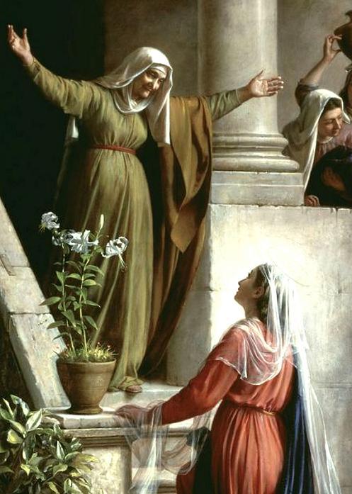 reflexão sobre a visita de Maria a Isabel
