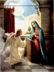 Maria foi a escolhida por Deus para dar à luz o seu Filho, Jesus Cristo