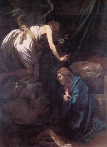A Virgem Maria nos ensina como servir o Senhor.