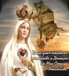 Seguindo os passos de João Paulo II, consagremo-nos a Nossa Senhora