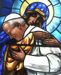 Joao Paulo II e a sua consagração a Nossa Senhora