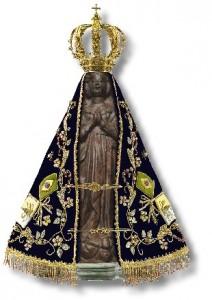 Nossa Senhora Aparecida e a nossa viuda de oração