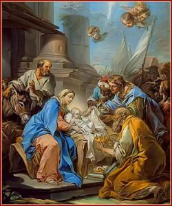 A VirgemMaria e a manifestação de Deus em Jesus Cristo.