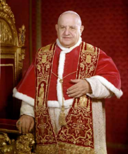 São João XXIII ensina que Maria é o caminho que leva a Jesus