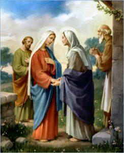 A visitação da Virgem Maria e a graça do Espírito Santo
