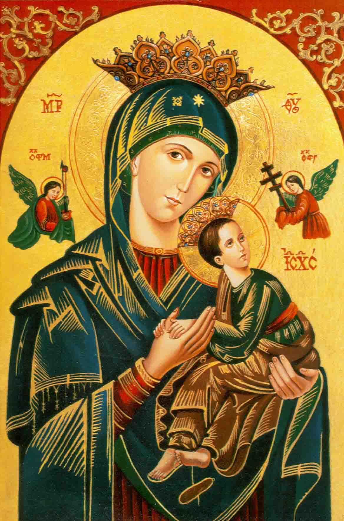 Resultado de imagem para Nossa Senhora do Perpétuo Socorro