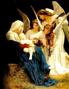 Maria, Rainha dos santos anjos